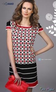 Платье из коллекции Rena Lange ss весна 2012