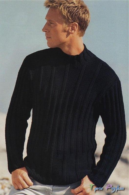 Сайт вязание спицами для мужчин