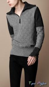 Мужской пуловер идея