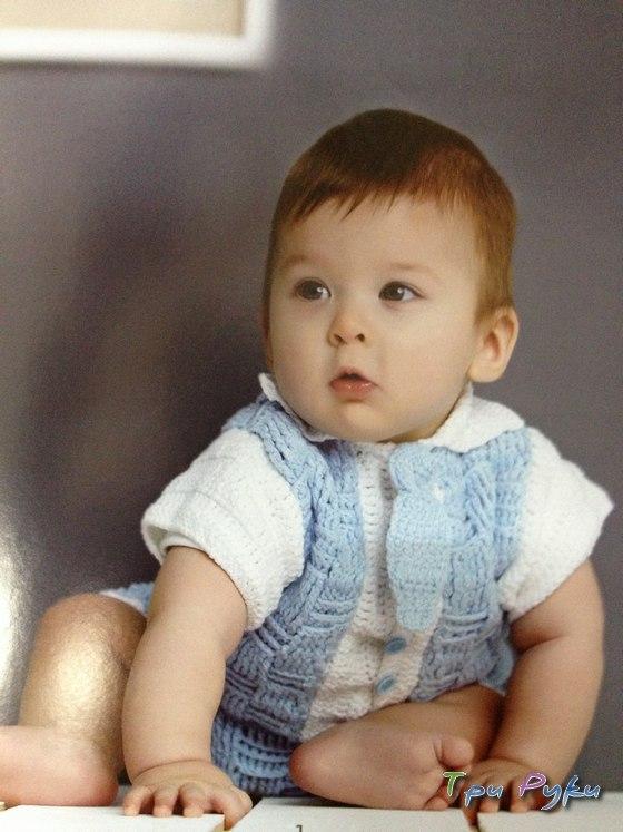 Жакет и шорты малышу