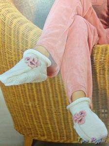 Вязания тапочек
