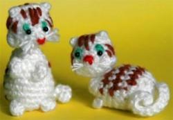 Миниатюрные котята амигуруми