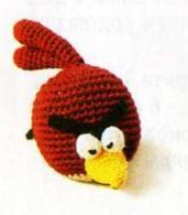 Бордовая птичка Angry Birds