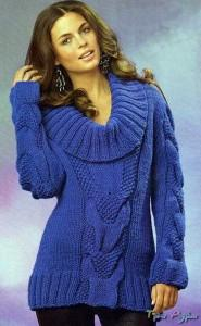 Пуловер в стиле 80-х