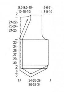 Дизайн мужского жилета