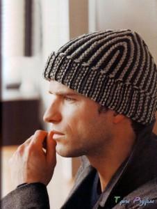 Мужская шапочка