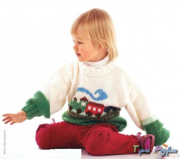 Пуловер мальчику