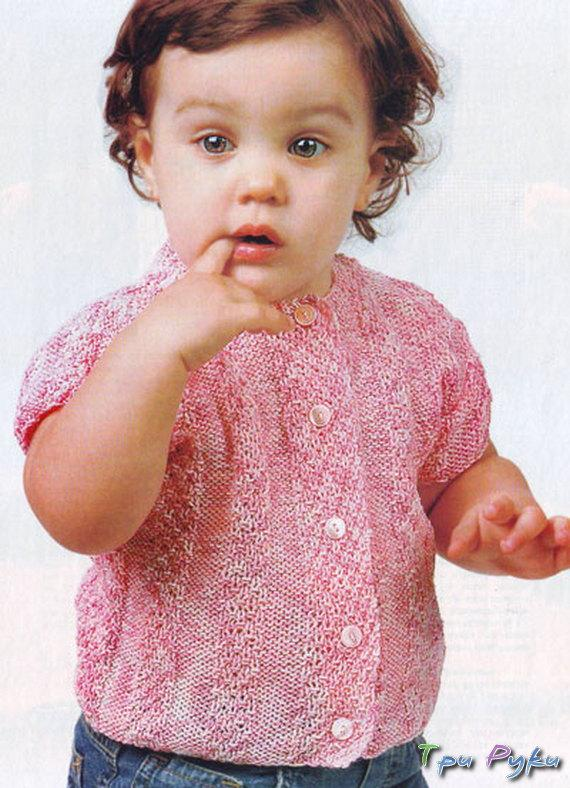 Жакет девочке 2-3 года