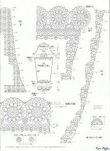 Мохеровое платье крючком