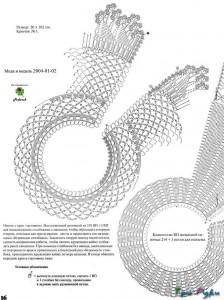 вязаные воротники крючком схемы фото (3)