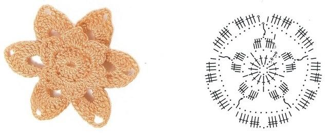 цветочки крючком мк (5)