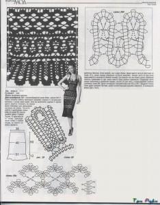 юбка крючком фото (1)