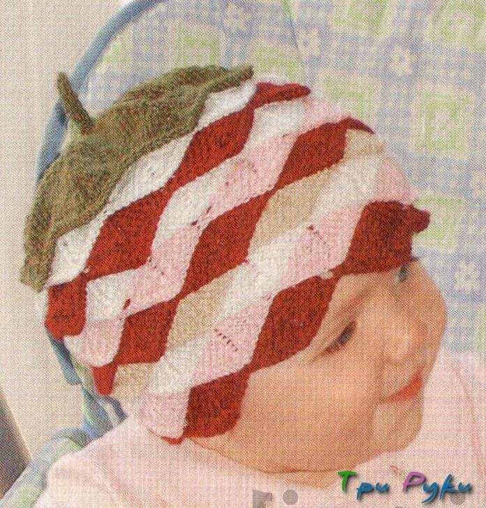 «Ягодная» шапочка для малыша