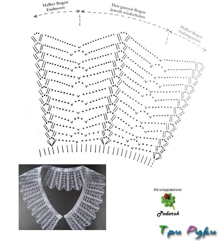 Вязание крючком схемы школьная форма 65