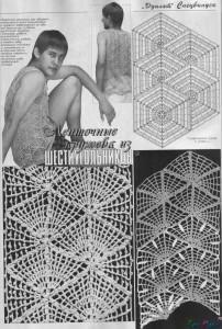вязание отделка ленточные кружева фото (2)