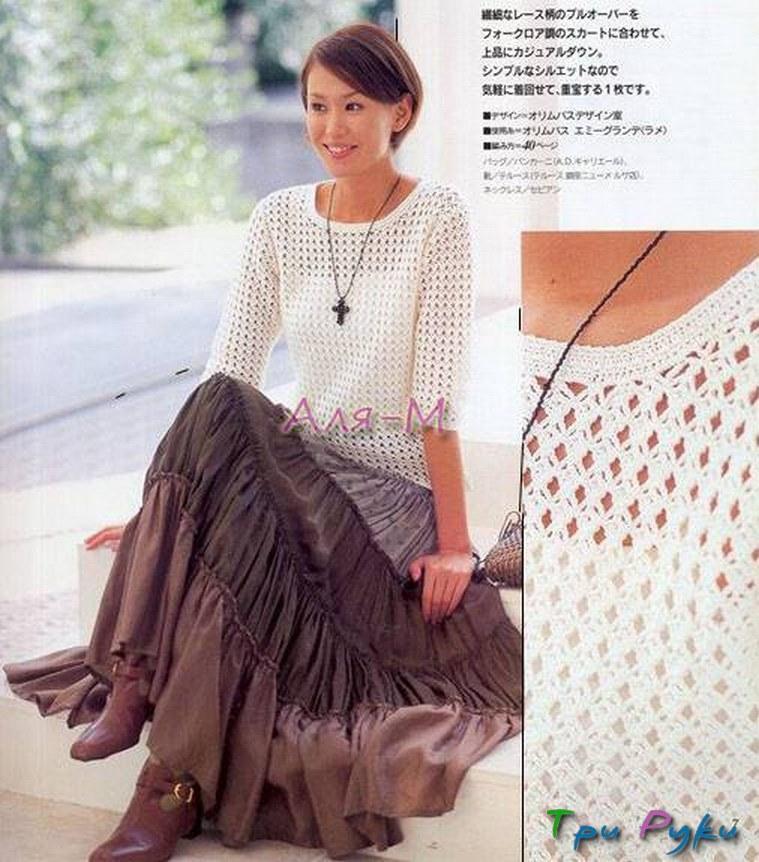 вязание из китайских журналов (2)