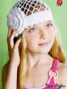 шапка для девочки (2)