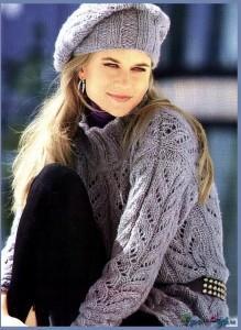 вязание пуловера спицами фото (1)