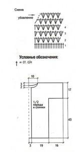 вязание крючком пуловера (1)