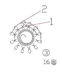 Вязаные мотивы крючком (14)