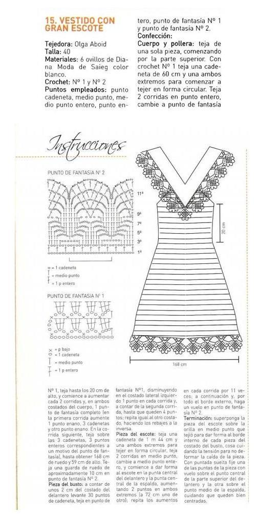 платье крючком схема фото (1)