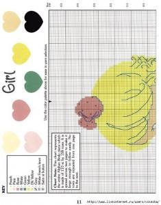 Вязаные пеленки спицами (6)