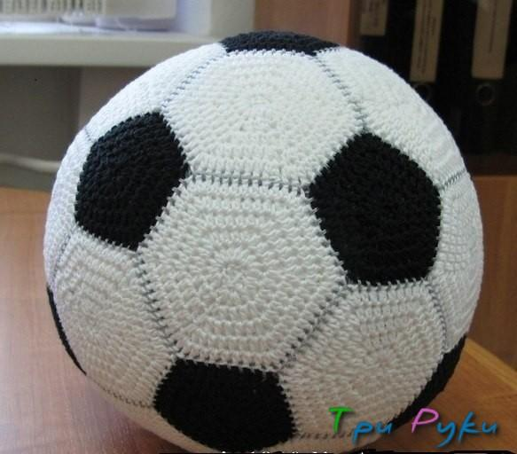 Вязаный мяч крючком (2)