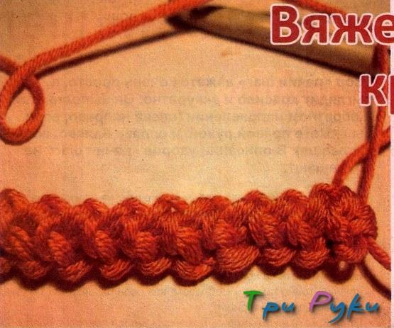 Вяжем шнур крючком (2)