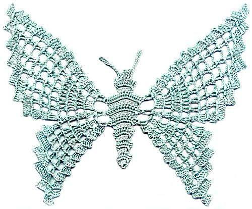 Бабочка крючком (19)