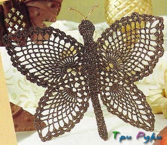Бабочка крючком (10)