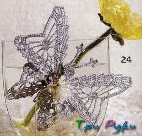 Бабочка крючком (8)