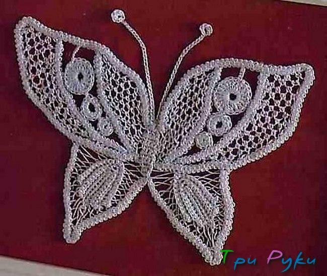 Бабочка крючком (32)