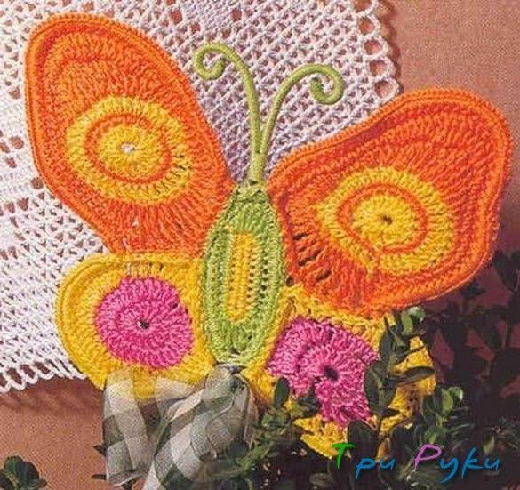 Бабочка крючком (28)