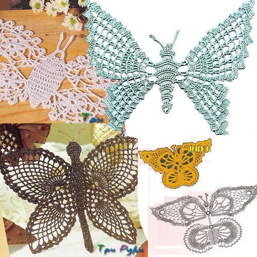 Бабочка крючком (1)