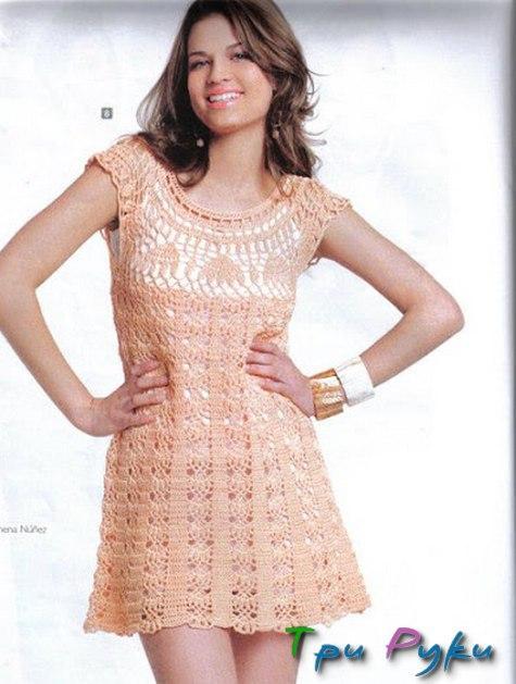 Платье оливкового цвета (1)