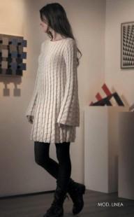 Молочное платье LINEA (2)
