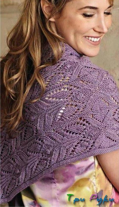 knitted stole (3)