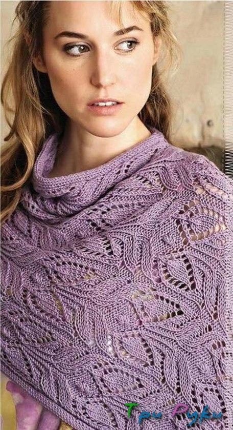 knitted stole (2)