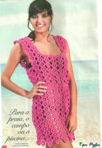 Dress with large patterns (2)