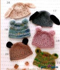 детские шапки с ушками (1)