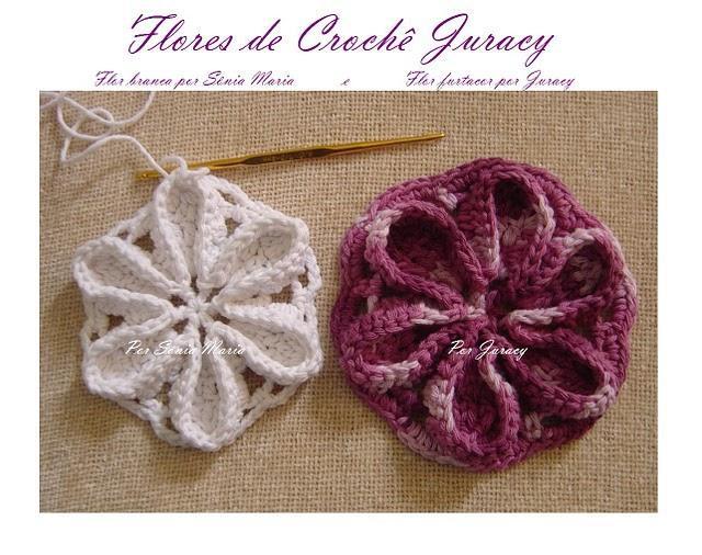 knitted crochet flower (4)