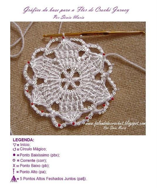 knitted crochet flower (3)