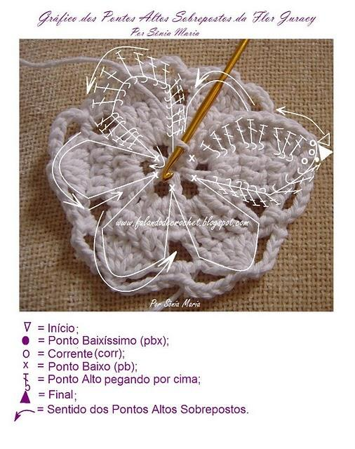 knitted crochet flower (2)
