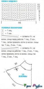 Берет варежки и пелерина (3)