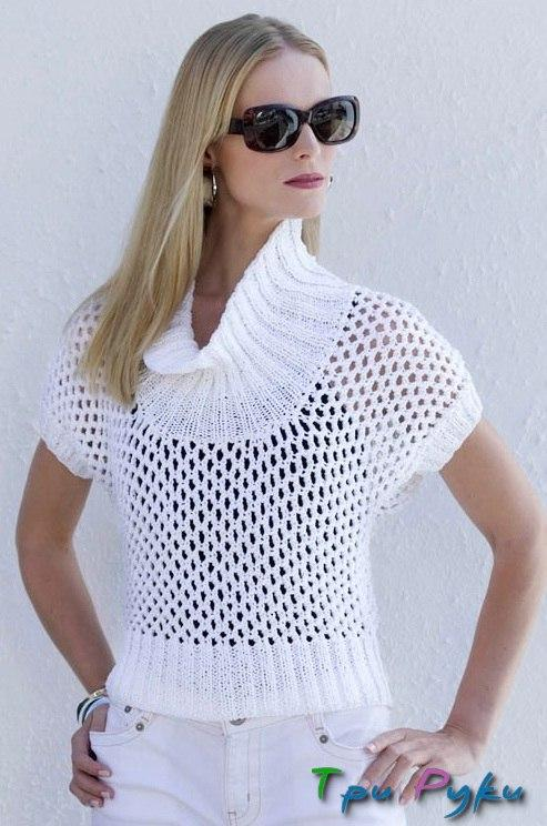 Пуловер для лета (4)