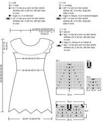Вязаное спицами платье (2)