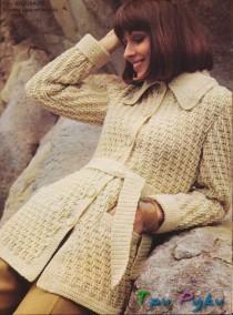 Изысканный жакет стиле 70-х (1)