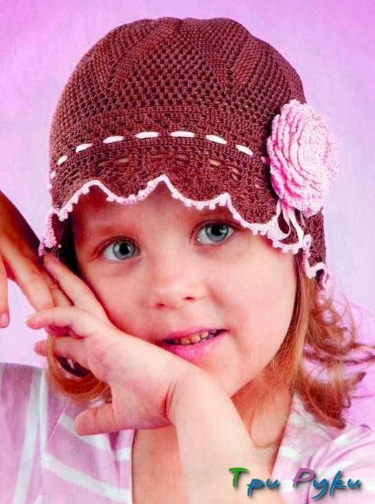 шапочка для девочки (2)