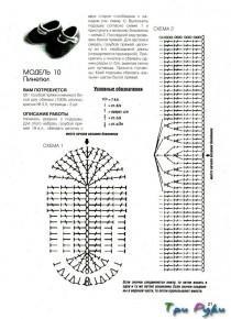 Пинетки крючком (2)