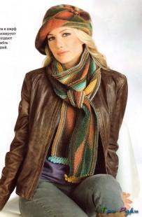 Элегантные шляпа и шарф (1)